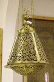 Ancient arabian lamp in Doha, Qatar, Middle East — Stock Photo