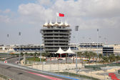Bahrain International Circuit in Manama, Middle East — Stock Photo