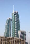 Bahrain Financial Harbour skyscrapers in Manama — Stock Photo