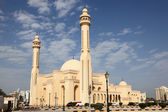 Al Fateh Grand Mosque in Manama, Bahrain, Middle East — Stock Photo