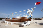 Traditional arabic dhow in Manama, Bahrain, Middle East — Stock Photo