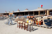 Pottery market in A'Ali, Bahrain, Middle East — Stock fotografie