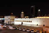 Night scenery in the city of Doha, Qatar, Middle East — Stock Photo