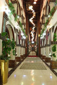 Traditional inner courtyard in Souq Waqif. Doha, Qatar, Middle East — Photo