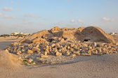 Dilmun Burial Mounds in A'ali. Kingdom of Bahrain, Middle East — Stock Photo