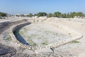 Archaeological site of the Barbar Temple in Bahrain, Middle East — Stock Photo