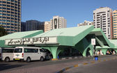 Main Bus Terminal in Abu Dhabi, United Arab Emirates — Stock Photo