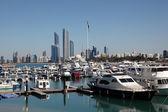 Marina in Abu Dhabi, United Arab Emirates — Stock Photo