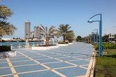 Corniche abu Dhabi, Birleşik Arap Emirlikleri — Stok fotoğraf