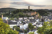 Town Dillenburg with historical Castle in Hesse, Germany — Stock fotografie