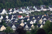 Residential houses in town Dillenburg, Hesse, Germany — Stock Photo