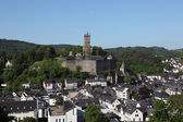 Town Dillenburg with historical Castle in Hesse, Germany — Foto Stock