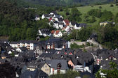 Residential houses in town Dillenburg, Hesse, Germany — Stok fotoğraf