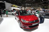 LEIPZIG, GERMANY - JUNE 1: Citroen C4 at the AMI - Auto Mobile International Trade Fair on June 1st, 2014 in Leipzig, Saxony, Germany — Foto Stock