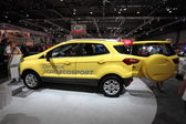 LEIPZIG, GERMANY - JUNE 1: New Ford Ecosport at the AMI - Auto Mobile International Trade Fair on June 1st, 2014 in Leipzig, Saxony, Germany — Foto Stock