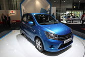 New Suzuki Celerio at the AMI - Auto Mobile International Trade Fair on June 1st, 2014 in Leipzig, Saxony, Germany — Foto Stock