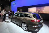 New Ford Mondeo Vignale at the AMI - Auto Mobile International Trade Fair on June 1st, 2014 in Leipzig, Saxony, Germany — Stock Photo