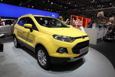 New Ford Ecosport at the AMI - Auto Mobile International Trade Fair on June 1st, 2014 in Leipzig, Saxony, Germany — Foto Stock