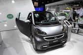 New Smart Passion at the AMI - Auto Mobile International Trade Fair on June 1st, 2014 in Leipzig, Saxony, Germany — Foto Stock