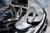 Futuristic Smart Fourjoy Concept Car at the AMI - Auto Mobile International Trade Fair on June 1st, 2014 in Leipzig, Saxony, Germany — Foto de Stock