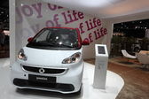 Smart Passion at the AMI - Auto Mobile International Trade Fair on June 1st, 2014 in Leipzig, Saxony, Germany — Stock Photo
