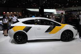 Opel Astra GTC at the AMI - Auto Mobile International Trade Fair on June 1st, 2014 in Leipzig, Saxony, Germany — Foto Stock