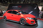 Honda Civic TypeR concept car at the AMI - Auto Mobile International Trade Fair on June 1st, 2014 in Leipzig, Saxony, Germany — Foto Stock