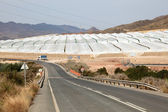 Greenhouse plantations in southern Spain — Stockfoto