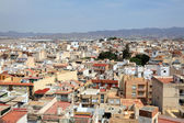View over the old town of Aguilas, province of Murcia, Spain — Stock Photo