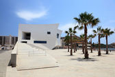 Auditorium and Congress Palace Infanta Dona Elena. Aguilas, province of Murcia, Spain — Stock Photo