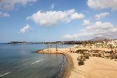 Beach in Puerto de Mazarron. Province of Murcia, Spain — Stock Photo