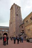 Башня в замке Вартбург в Тюрингии, Германия — Стоковое фото