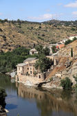 River Tagus in Toledo, Castilla-La Mancha, Spain — Stock Photo