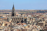 Cathedral of Saint Mary of Toledo. Castilla-La Mancha, Spain — Stock Photo