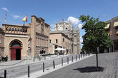 Square in Toledo, Castilla-La Mancha, Spain — Stock Photo