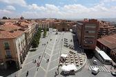 Plaza De Santa Teresa in Avila, Castilla y Leon, Spain — Stock Photo