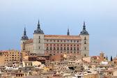 Alcazar of Toledo, Castilla La Mancha, Spain — Stock Photo