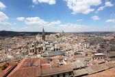 View over the old town of Toledo, Castilla La Mancha, Spain — Stock Photo