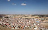 View over the town Consuegra, Castilla La Mancha, Spain — Stock Photo