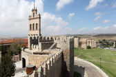 Medieval city walls of Avila, Castilla y Leon, Spain — Stock Photo