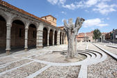 San Vicente Basilica in Avila, Castilla y Leon, Spain — Stock Photo