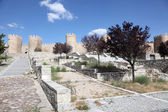Medieval city walls of Avila, Castilla y Leon, Spain — Foto Stock