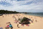 Beautiful beach in Santander, Cantabria, Spain — Stock Photo
