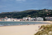 Beach in Laredo, Cantabria, Spain — Stock Photo