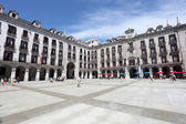 Plaza Porticada in the city of Santander, Cantabria, Spain — Stock Photo