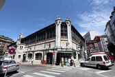 Old Market in the city of Santander, Cantabria, Spain — Stock Photo