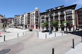 Square in the city of Santander, Cantabria, Spain — Stock Photo