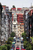 Street in the city of Santander, Cantabria, Spain — Stock Photo