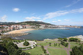 View over Castro Urdiales, Cantabria, Spain — Stock Photo