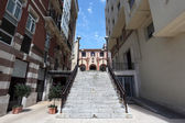 Street in Portugalete, Biscay province, Bilbao, Spain — Stock Photo